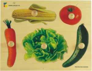 Vegetable Photo Puzzle (5pcs)-0