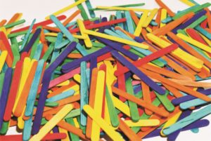 Coloured Pop Sticks (1000pcs)-0
