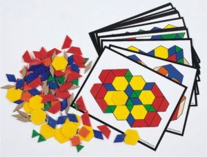 Pattern Block Activity Pack (160pcs)-0