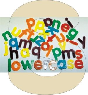 Giant Magnetic Lowercase Letters (40pcs)-0