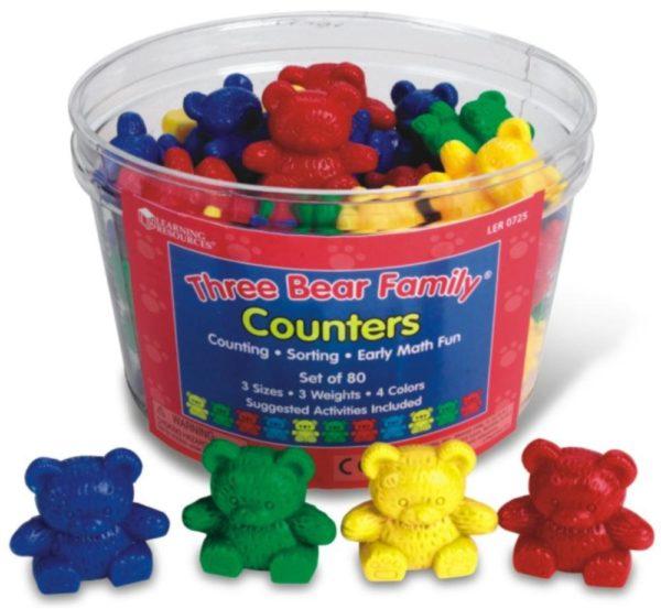 3 Bear Counters Basic Set (80pcs)-0