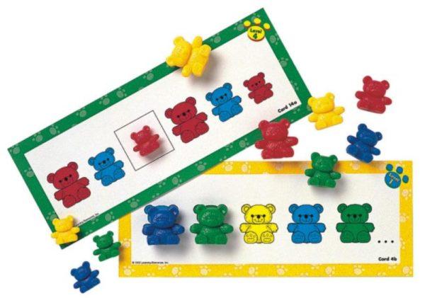 3 Bear Pattern Cards (16pcs)-0