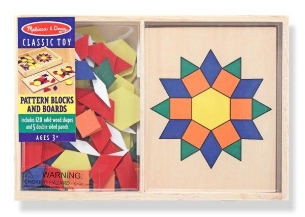 Pattern Blocks & Boards (125pcs)-6772