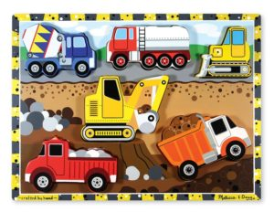 Construction Chunky Puzzle (6pcs)-0