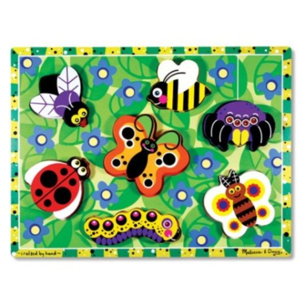 Insects Chunky Puzzle (7pcs)-0