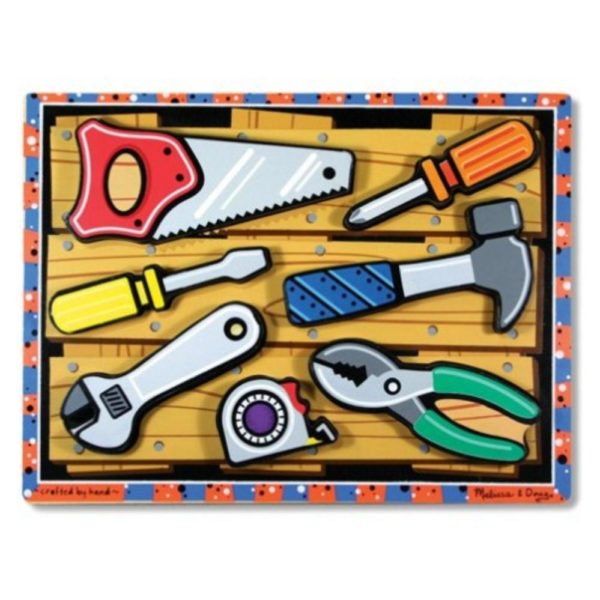 Tools Chunky Puzzle (7pcs)-0
