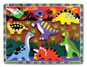Dinosaurs Chunky Puzzle (7pcs)-0