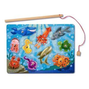 Magnetic Fishing Game (11pcs)-0