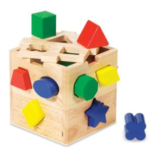 Shape Sorting Cube (11pcs)-0