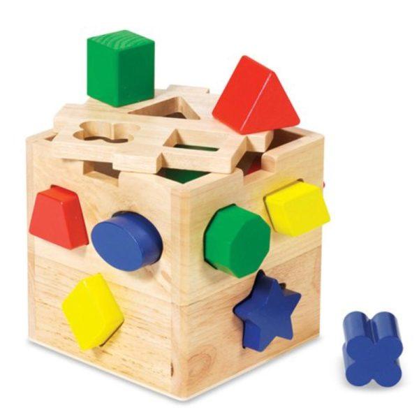 Shape Sorting Cube (11pcs)-0