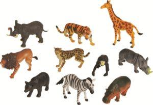 Jungle Animals (10pcs)-0