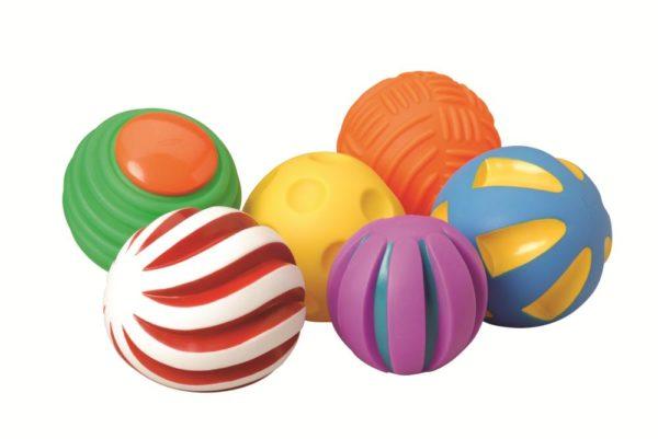 Toddler Tactile Balls (6pcs)-0
