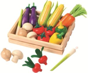 Crate of Wooden Vegetables (21pcs)-0