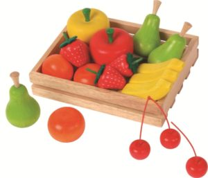 Crate of Wooden Fruit (19pcs)-0
