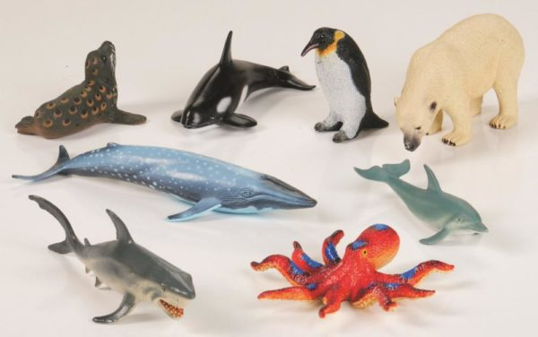 Marine Animals (8pcs)-0