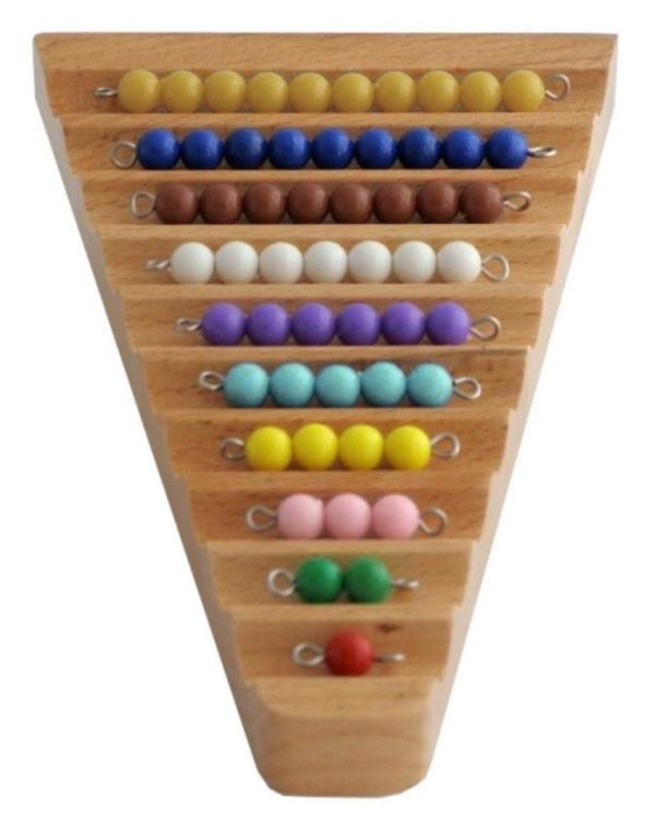 Bead Stairs on Base-0