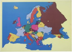 Puzzle Map of Europe-0