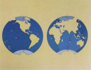 Puzzle Map of Ocean-0