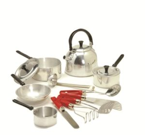 Child-size Metal Cookware Set (13pcs)-0