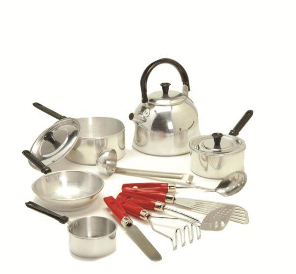 Child-size Metal Cookware Set (13pcs)-0