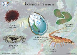Seafood/Crustaceans Poster Maori-0