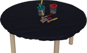 Fitted Table Cover Round Small-0