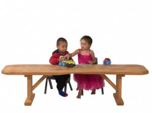 Natural Wood Table 120cm-0