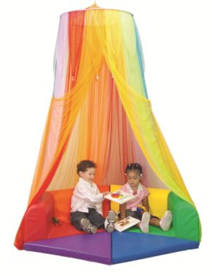 Rainbow Retreat Canopy (1pce)-0