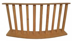 Rustic Fence Curved 120x60cm-0