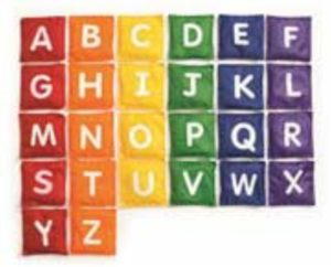 Alphabet Bean Bags (26pcs)-0