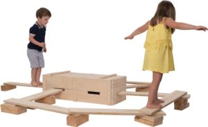 Natural Block & Planks Set (25pcs)-0