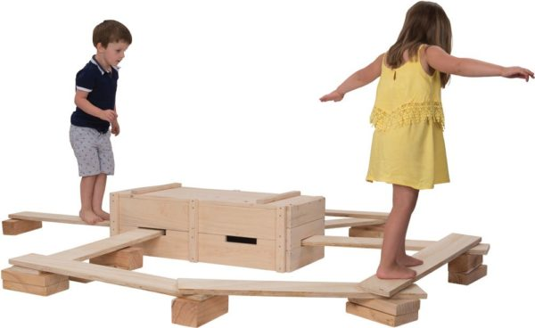 Natural Block & Planks Set (25pcs)-0