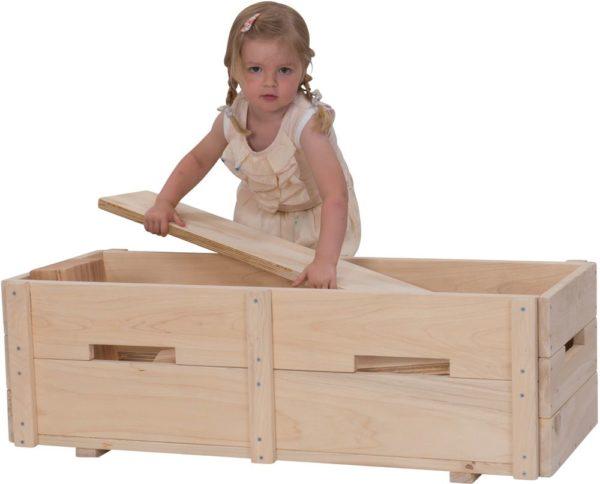 Natural Block & Planks Set (25pcs)-12653