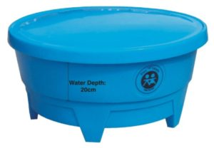 All-In-One Play Tray Lid only Blue-0