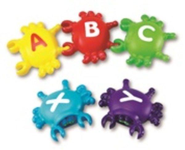 Alphabet Link Crabs (26pcs)-13054