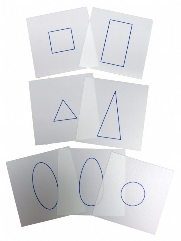 Geometric Form Cards for Demonstration Tray-0