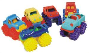 Mini Monster Vehicles (6pcs)-0