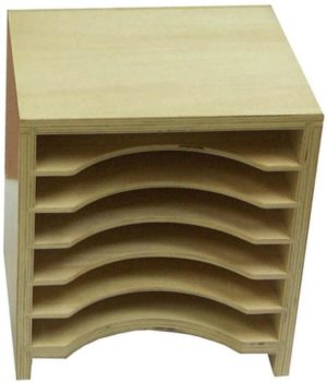Geometric Form Card Cabinet-0