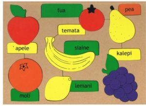 Fruit Puzzle Tongan (16pcs)-0