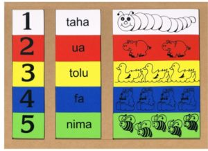 Numbers 1-5 Puzzle Tongan (15pcs)-0