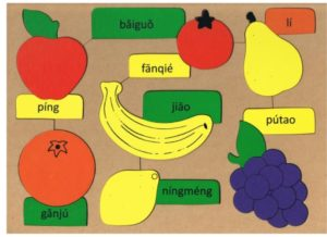Fruit Puzzle Mandarin (16pcs)-0