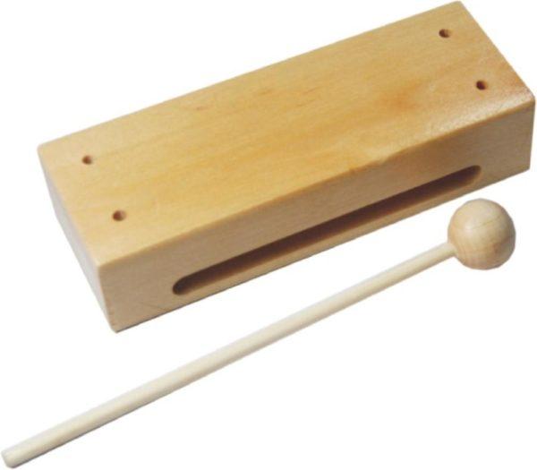 Wood Block & Beater-0