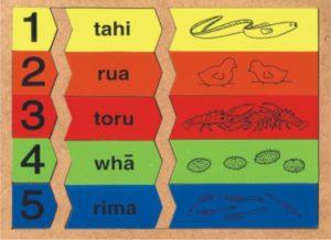 1-5 Numbers Puzzle Maori (15pcs)-0