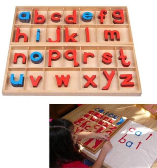 Large Laser Cut Movable Alphabet in Box-0