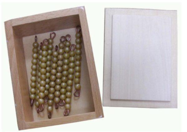 Box with 45 Ten Bars Individual Beads-0