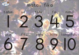 Numbers Poster Tongan-0