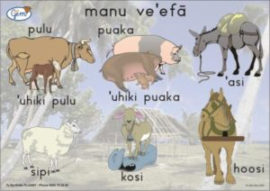 Farm Animals Poster Tongan-0