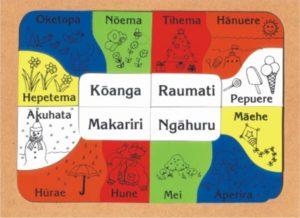 Seasons/Months Maori Puzzle (16pcs)-0