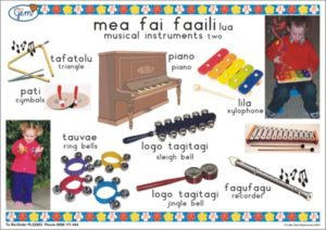 Music Instruments 2 Poster Samoan-0