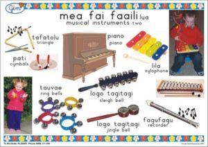 Music Instruments 2 Poster Samoan-0